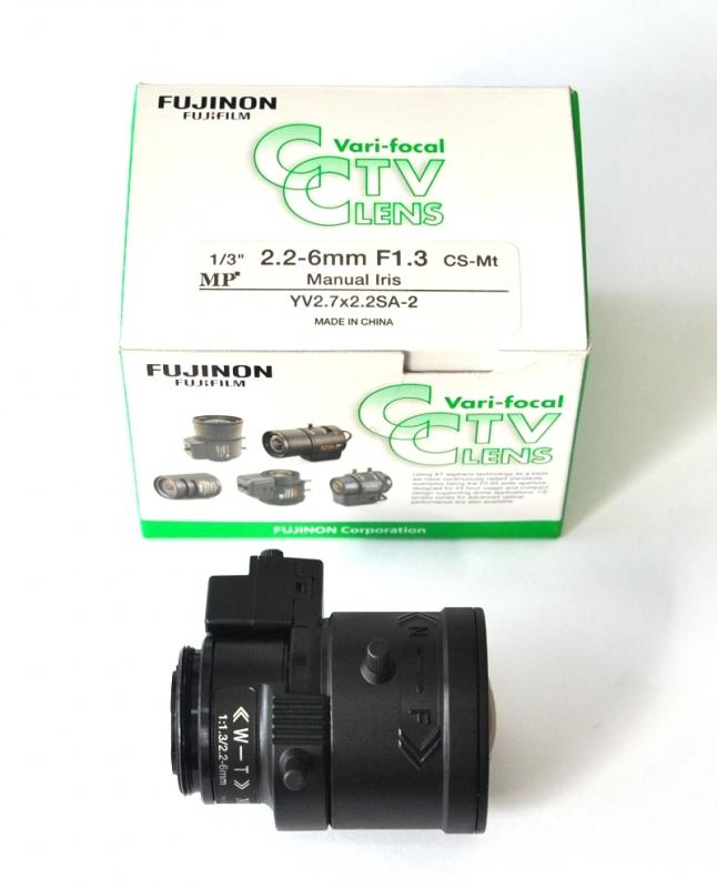 Obiektyw FUJINON YV2.7x2.2SA-2