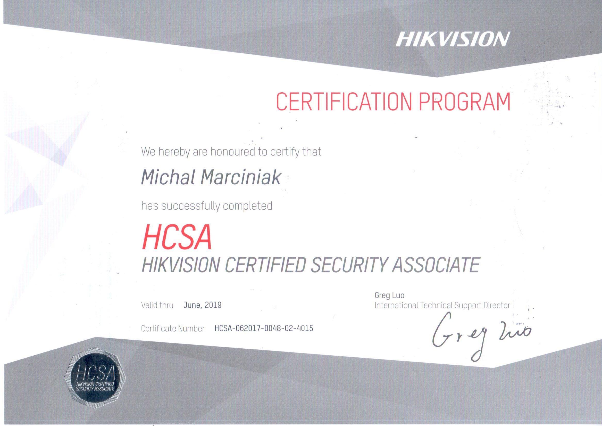 Hikvision HCSA