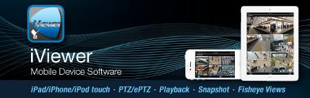 iViewer aplikacja do kamer Vivotek dla telefonów iPhone i tabletów iPad