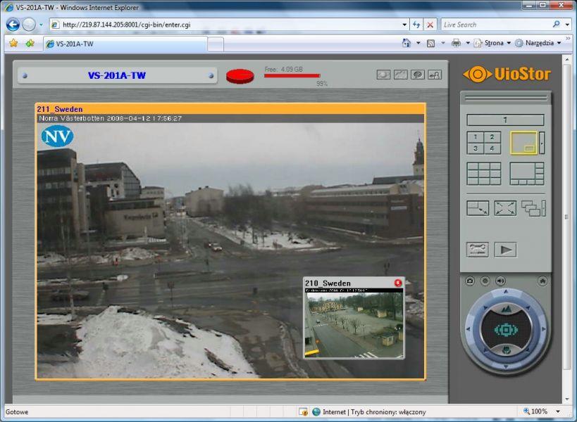 rejestatory sieciowe dla kamer IP